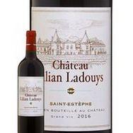 SANS MARQUE AOP Saint Estèphe Château Lilian Ladouys Cru Bourgeois rouge 2016