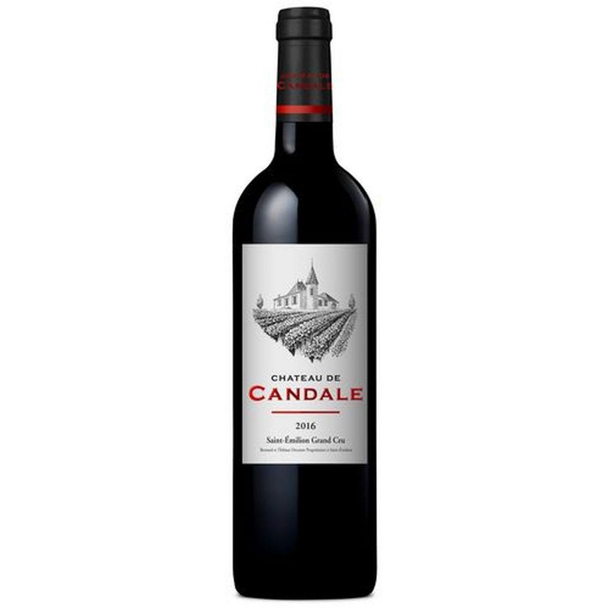 AOP Saint-Emilion grand cru Château de Candale rouge 2016