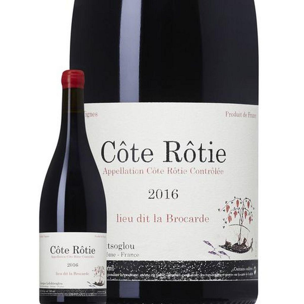 AOP Côte Rotie Lieu Dit La Brocarde rouge 2016