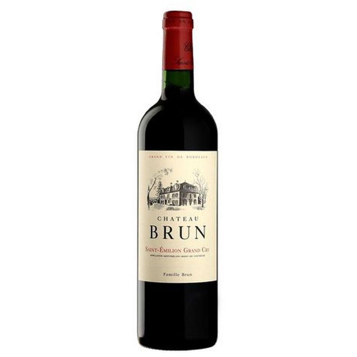 AOP Saint-Emilion grand cru Château Brun rouge 2018