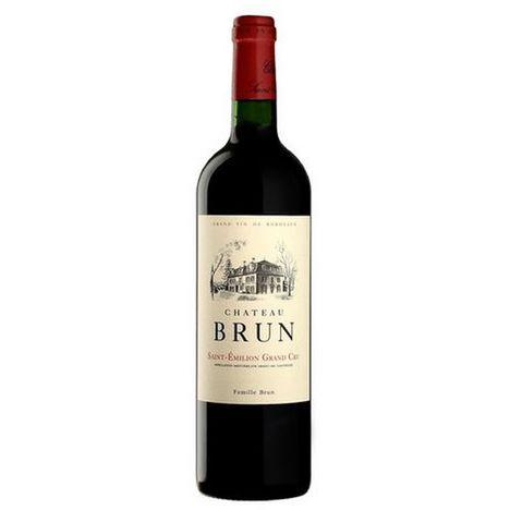 SANS MARQUE AOP Saint-Emilion grand cru Château Brun rouge 2018