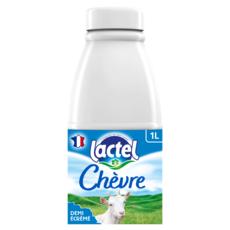 LACTEL Lait de chèvre demi-écrémé UHT 1L