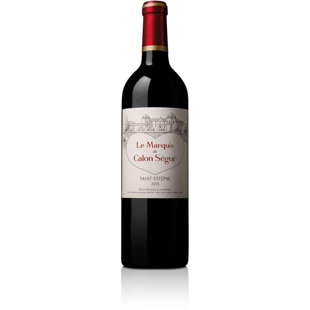 AOP Saint Estèphe Second Vin Marquise Calon Segur rouge 2018
