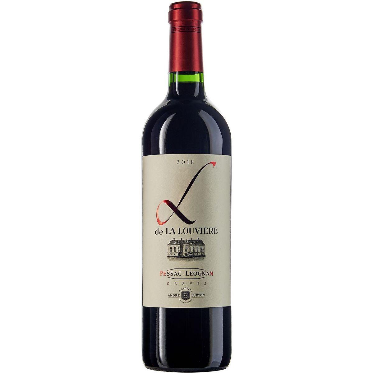 AOP Pessac Léognan Second Vin HVE L de la Louvière rouge 2018