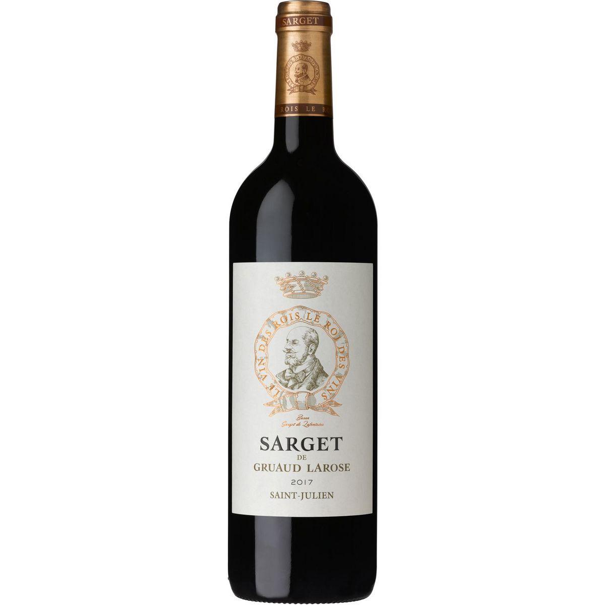 AOP Saint-Julien Sarget de Gruaud Larose second vin rouge 2017