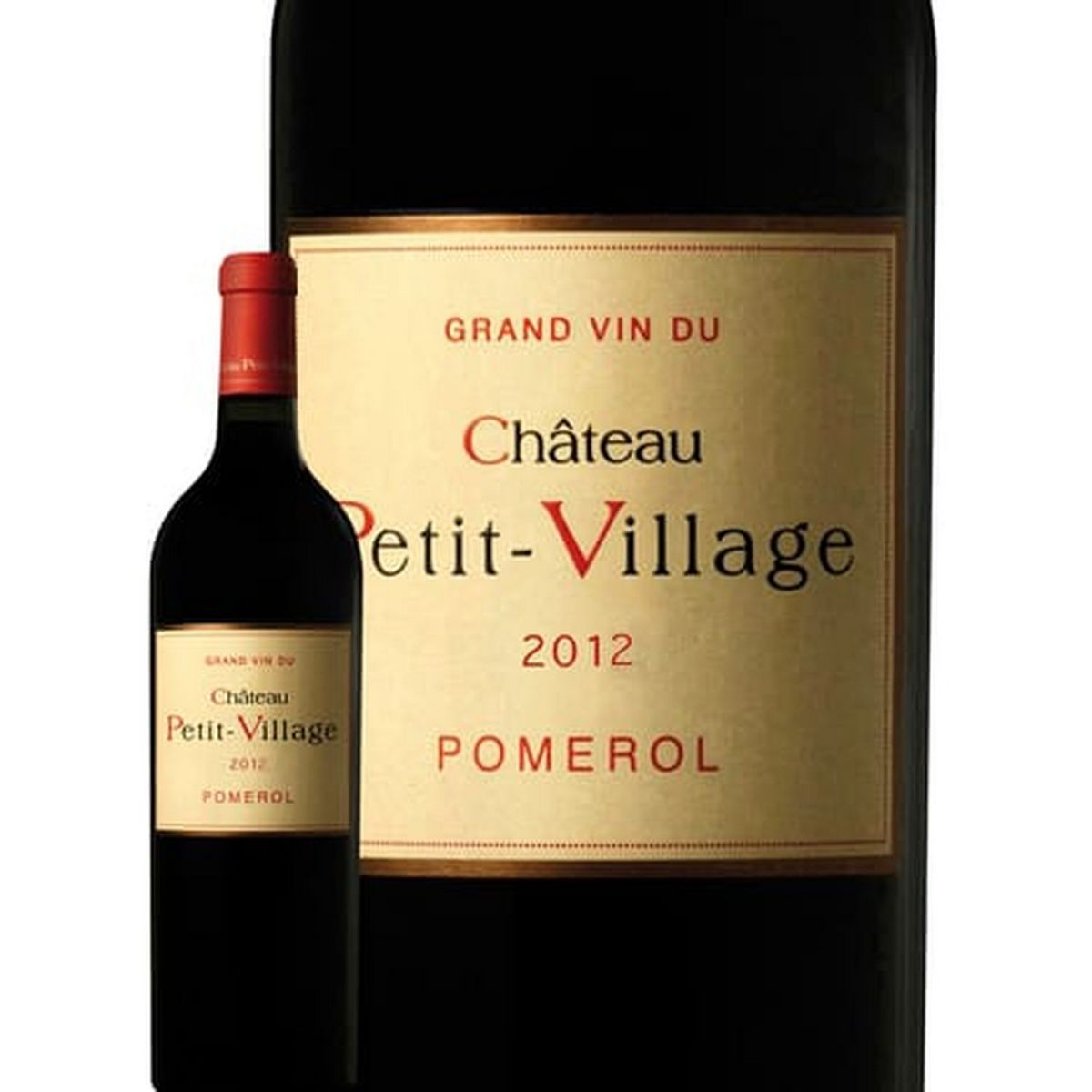 AOP Pomerol Château Petit Village rouge 2012