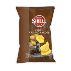 SIBELL Chips campagnardes 135g
