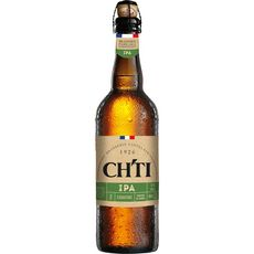 CH'TI Bière blonde IPA signature 6% bouteille 75cl