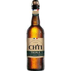 CH'TI Bière blonde triple signature 8.5% 75cl