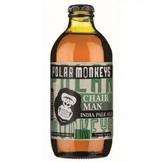 POLAR MONKEYS Bière Chairman IPA 6% bouteille  33cl