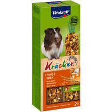 VITAKRAFT Kracker miel et épeautre pour cochons d'inde  2x112g