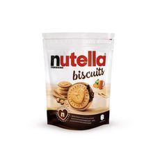 NUTELLA Biscuits croquants au cœur onctueux de Nutella 22 biscuits 304g