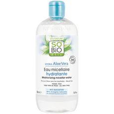 SO'BiO étic SO BIO ETIC Eau micellaire hydratante tous types de peaux