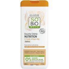 SO BIO ETIC Douche crème nutrition huile d'argan peaux extra-sèches 650ml