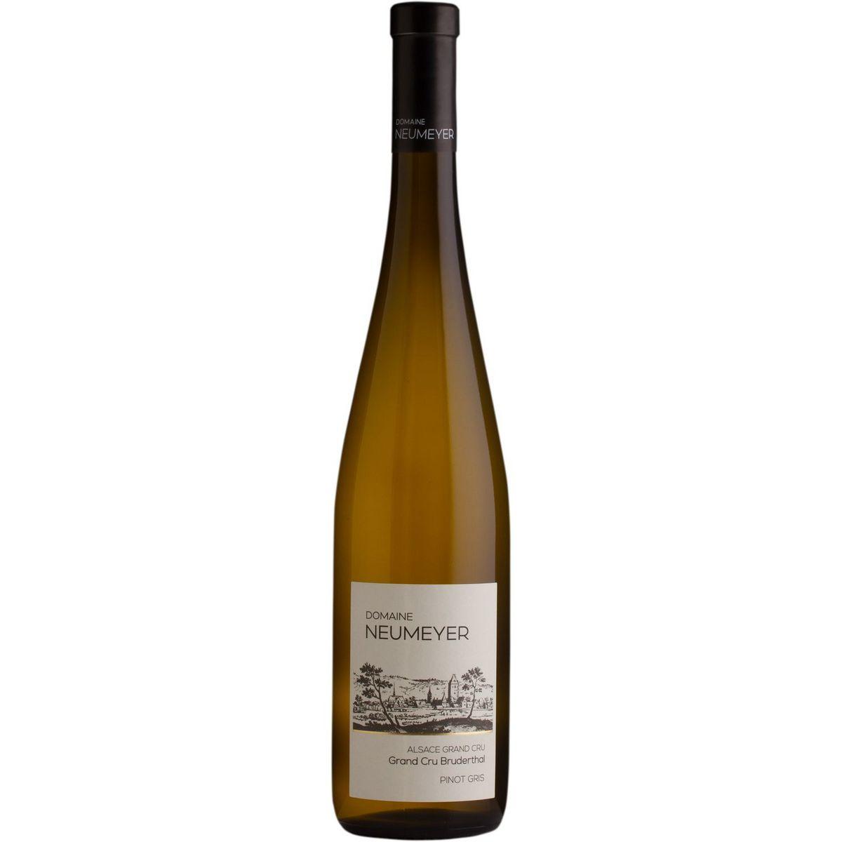 AOP Alsace Grand Cru Pinot Gris Bio Bruderthal Domaine Neumeyer blanc 2018
