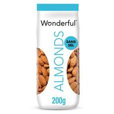 WONDERFUL Amandes grillées sans sel 200g