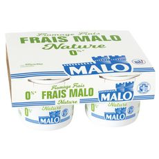 MALO Fromage frais 0 % MG 4x100g 4x100g