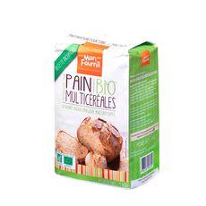 MON FOURNIL Préparation pain multi-céréales bio 1kg