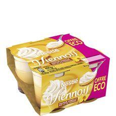 Nestlé viennois vanille caramel 4x100g