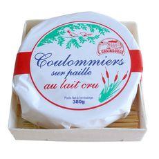 GRAINDORGE Coulommiers sur paille au lait cru 380g