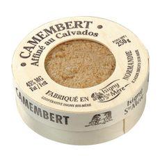 ISIGNY STE MERE Camembert affiné au Calvados 45% MG 250g