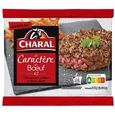 CHARAL Caractère de bœuf découpe aux couteaux 2x120g