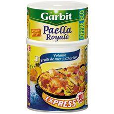 GARBIT Paella royale express volaille fruits de mer et chorizo 940g