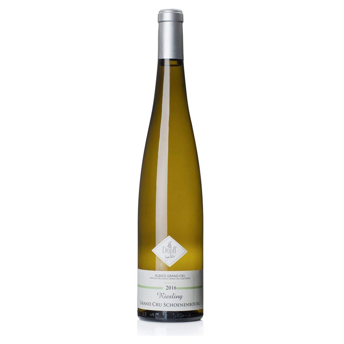 AOP Alsace Riesling Grand Cru Domaine Dopff Schoenenbourg blanc 2016
