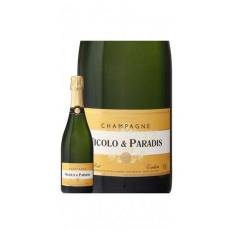 NICOLO ET PARADIS AOP Champagne Brut tradition
