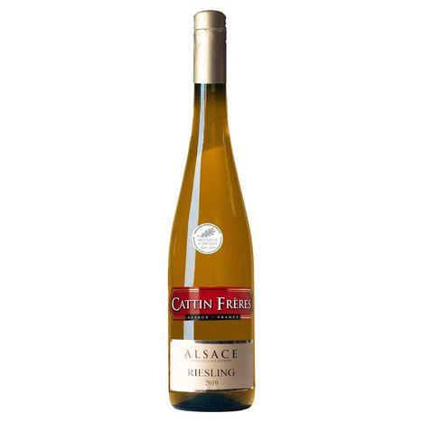 SANS MARQUE AOP Alsace Riesling Cattin Frères Magnum blanc 2019