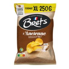 BRETS Chips à l'ancienne nature maxi format 250g