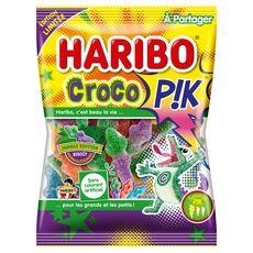 HARIBO Croco P!k bonbons acidifiés  275g