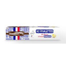 Croustipate CROUSTIPATE Pâte feuilletées au beurre et farine Française