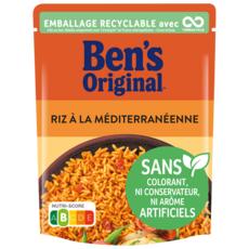 BEN'S ORIGINAL Riz Express à la Méditerranéenne 2 minutes 1 part 250g