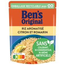 BEN'S ORIGINAL Riz Express Citron & Romarin 2 minutes 250g
