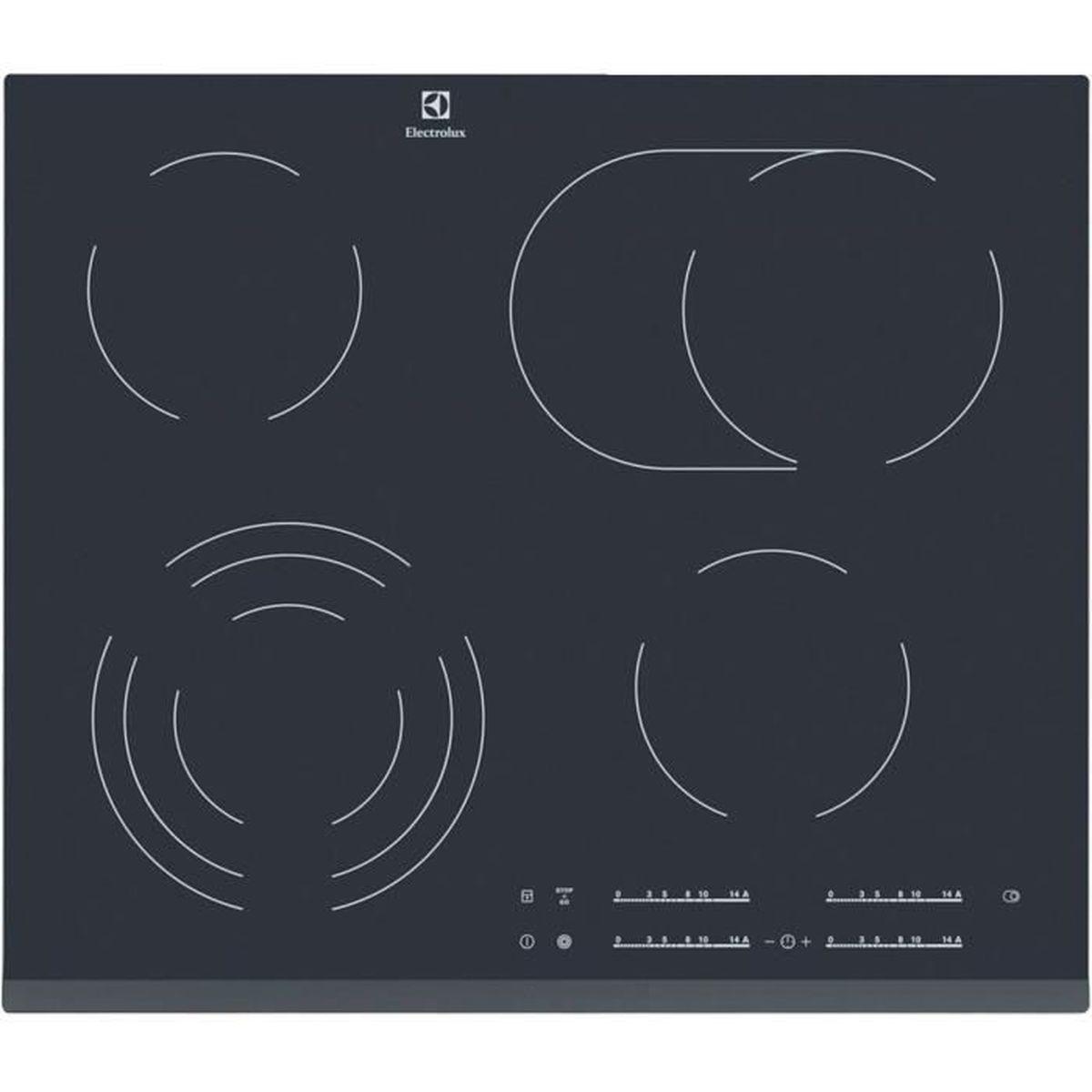 Table de cuisson induction encastrable EHF6547FOK, 56 cm, 4 foyers