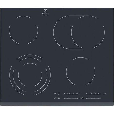 ELECTROLUX Table de cuisson vitrocéramique encastrable EHF6547FOK, 56 cm, 4 foyers