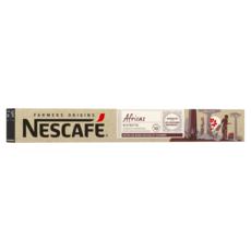 NESCAFE Farmers origins Capsules de café Africas ristretto compatibles Nespresso intensité 10 10 capsules 55g