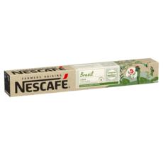 NESCAFE Farmers origins Capsules de café Brazil lungo compatibles Nespresso intensité 8 10 capsules 52g