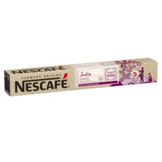 NESCAFE Farmers origins Capsules de café India compatibles Nespresso intensité 9 10 capsules 53g