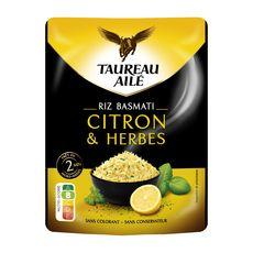 TAUREAU AILE Riz basmati citron et herbes 250g