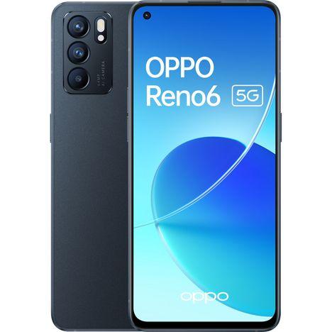 OPPO Reno 6 5G - 128GO - Noir Stellaire