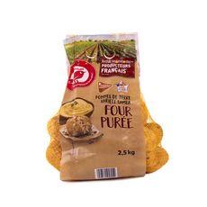 AUCHAN Pommes de terre four purée 2,5kg