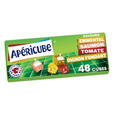 APERICUBE Cubes de fromage apéritif Long Drink 48 cubes 250g
