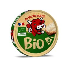 LA VACHE QUI RIT Fromage bio fondu en portion 8 portions 128g