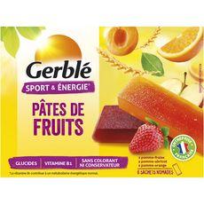GERBLE Pâtes de fruits, sachets individuels 6x27g 162g