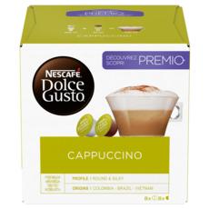 DOLCE GUSTO Capsules de café cappuccino compatibles Dolce Gusto 16 capsules 186g