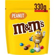 M&M'S Peanut bonbons chocolatés à la cacahuète 330g
