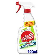LA CROIX Spray dégraissant avec javel 500ml