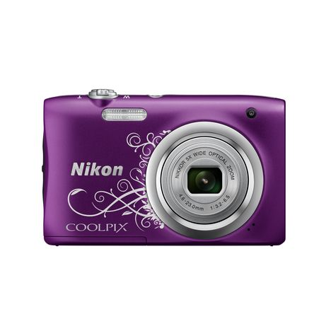 coolpix a100 violet line art appareil photo compact nikon pas cher prix auchan. Black Bedroom Furniture Sets. Home Design Ideas